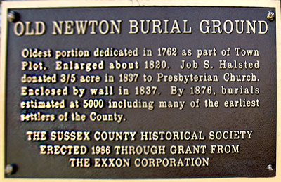 Burial Ground Engraving