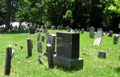 Burial Ground Graves
